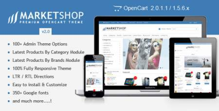 MarketShop theme for OpenCart